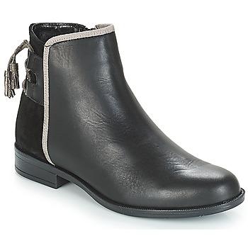 Schoenen Dames Laarzen André TITOL Zwart