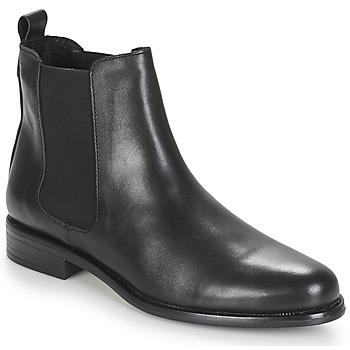 Schoenen Dames Laarzen André CARAMEL Zwart