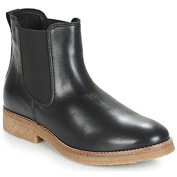Schoenen Dames Laarzen André THELA Zwart
