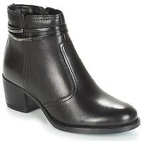 Schoenen Dames Laarzen André CALOTINE Zwart