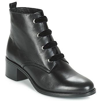 Schoenen Dames Laarzen André THARA Zwart