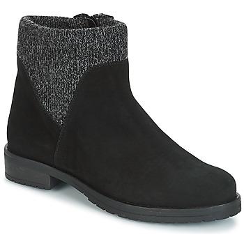Schoenen Dames Laarzen André TRIAL Zwart
