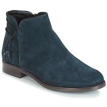 Schoenen Dames Laarzen André BILLY Blauw