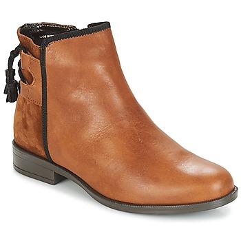Schoenen Dames Laarzen André TITOL Bruin