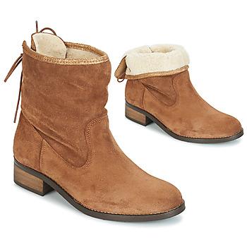 Schoenen Dames Laarzen André TELEX Bruin