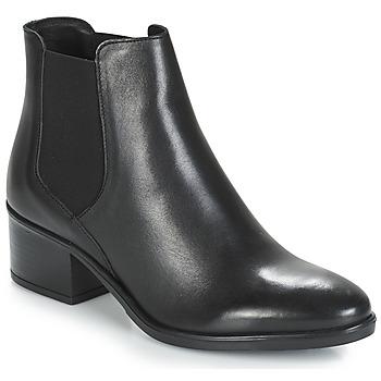 Schoenen Dames Laarzen André TRIUMPHA Zwart