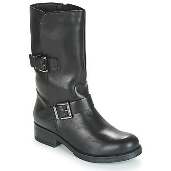 Schoenen Dames Hoge laarzen André TOPI Zwart