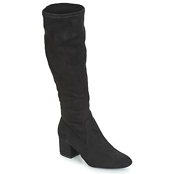 Schoenen Dames Hoge laarzen André FARFELUE Zwart