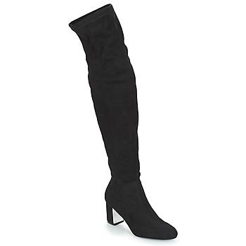 Schoenen Dames Hoge laarzen André FANN Zwart