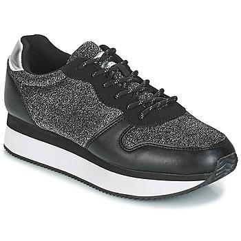 Schoenen Dames Lage sneakers André TYPO Zwart / Zilver