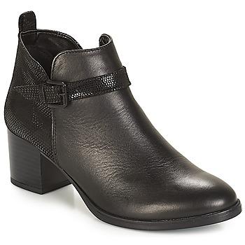 Schoenen Dames Laarzen André PATTY 3 Zwart