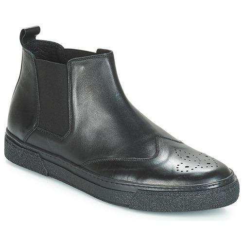 Schoenen Heren Laarzen André OASIS Zwart