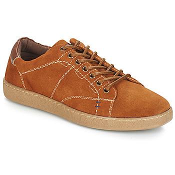 Schoenen Heren Lage sneakers André LENNO Bruin