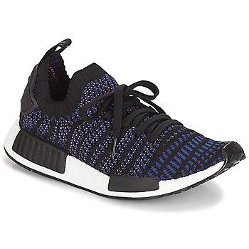 Schoenen Dames Lage sneakers adidas Originals NMD R1 STLT PK W Zwart