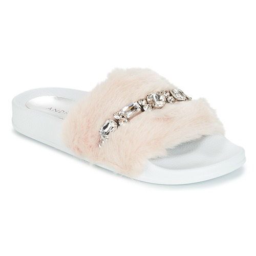 Schoenen Dames slippers André DIADEME Wit