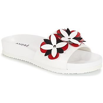 Schoenen Dames slippers André GARDENIA Wit