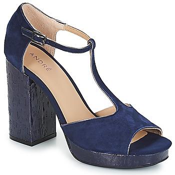 Schoenen Dames Sandalen / Open schoenen André TORRIDE Marine