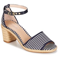 Schoenen Dames Sandalen / Open schoenen André JAKARTA Gestreept / Blauw