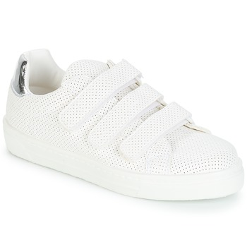Schoenen Dames Lage sneakers André CARLINE Wit