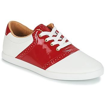 Schoenen Dames Lage sneakers André LIZZIE Rood
