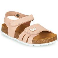 Schoenen Meisjes Sandalen / Open schoenen André PAPILLON Roze