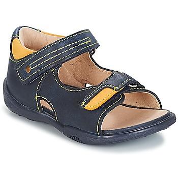 Schoenen Jongens Sandalen / Open schoenen André VOYAGE Marine