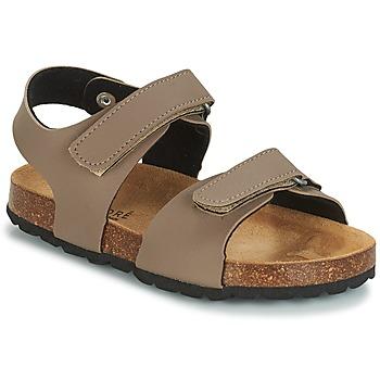 Schoenen Kinderen Sandalen / Open schoenen André LES CRABES Taupe