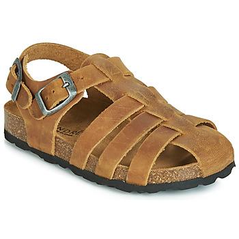 Schoenen Meisjes Sandalen / Open schoenen André TOTEM Camel