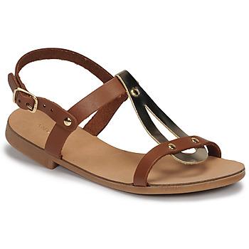 Schoenen Meisjes Sandalen / Open schoenen André TOUFOU E Camel
