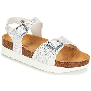 Schoenen Meisjes Sandalen / Open schoenen André LAURE Zilver
