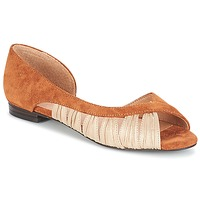 Schoenen Dames Sandalen / Open schoenen André PIPA Camel