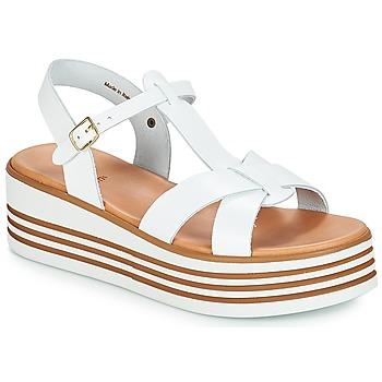 Schoenen Dames Sandalen / Open schoenen André LUANA Wit