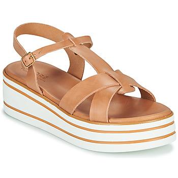 Schoenen Dames Sandalen / Open schoenen André LUANA Camel
