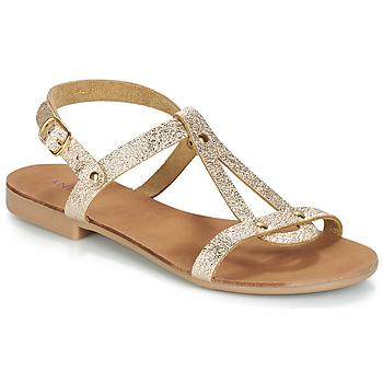 Schoenen Dames Sandalen / Open schoenen André TOUFOU Goud