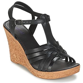 Schoenen Dames Sandalen / Open schoenen André FABULEUSE Zwart