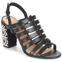 Schoenen Dames Sandalen / Open schoenen André DJEMBE Zwart