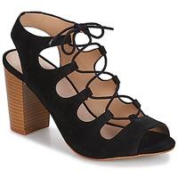 Schoenen Dames Sandalen / Open schoenen André LAETITIA Zwart