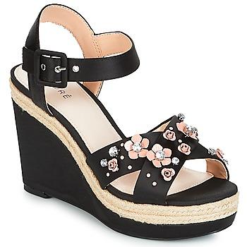 Schoenen Dames Sandalen / Open schoenen André IXIA Zwart