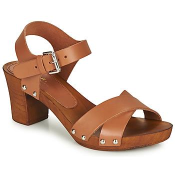Schoenen Dames Sandalen / Open schoenen André BONGO Bruin