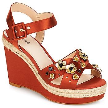 Schoenen Dames Sandalen / Open schoenen André IXIA Oker