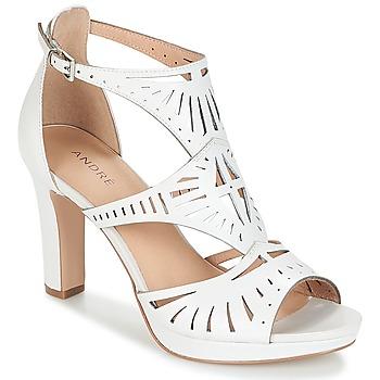 Schoenen Dames Sandalen / Open schoenen André TINA Wit