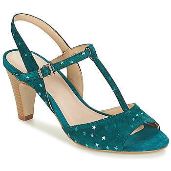 Schoenen Dames Sandalen / Open schoenen André BETY Turquoize