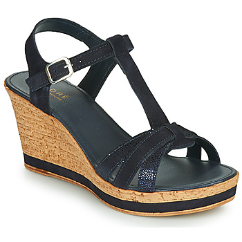 Schoenen Dames Sandalen / Open schoenen André ALOE Marine