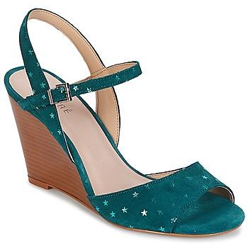 Schoenen Dames Sandalen / Open schoenen André BECKY Turquoize