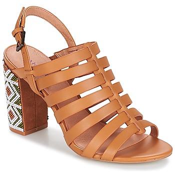 Schoenen Dames Sandalen / Open schoenen André DJEMBE Cognac
