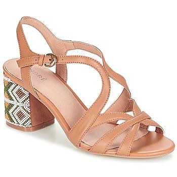 Schoenen Dames Sandalen / Open schoenen André SAMBA Camel
