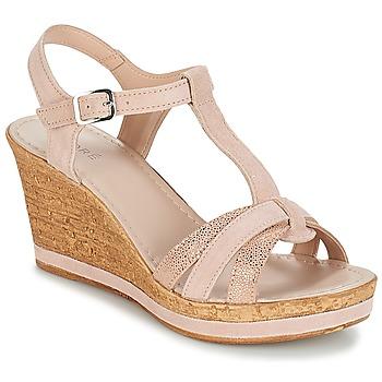 Schoenen Dames Sandalen / Open schoenen André ALOE Nude