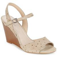 Schoenen Dames Sandalen / Open schoenen André BECKY Beige