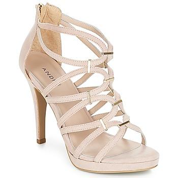 Schoenen Dames Sandalen / Open schoenen André SALSA Nude