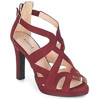 Schoenen Dames Sandalen / Open schoenen André CHARLESTON Bordeau
